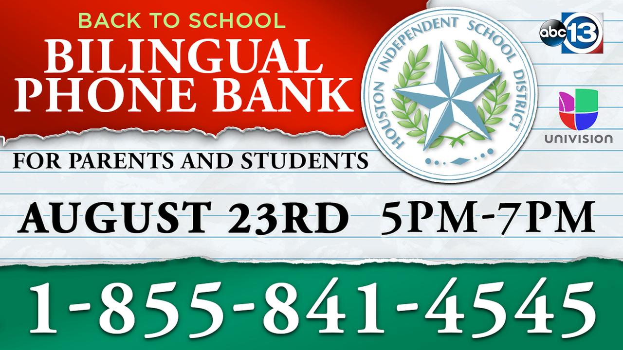 ABC13 and Univision partner for bilingual 'Back to School' phone bank