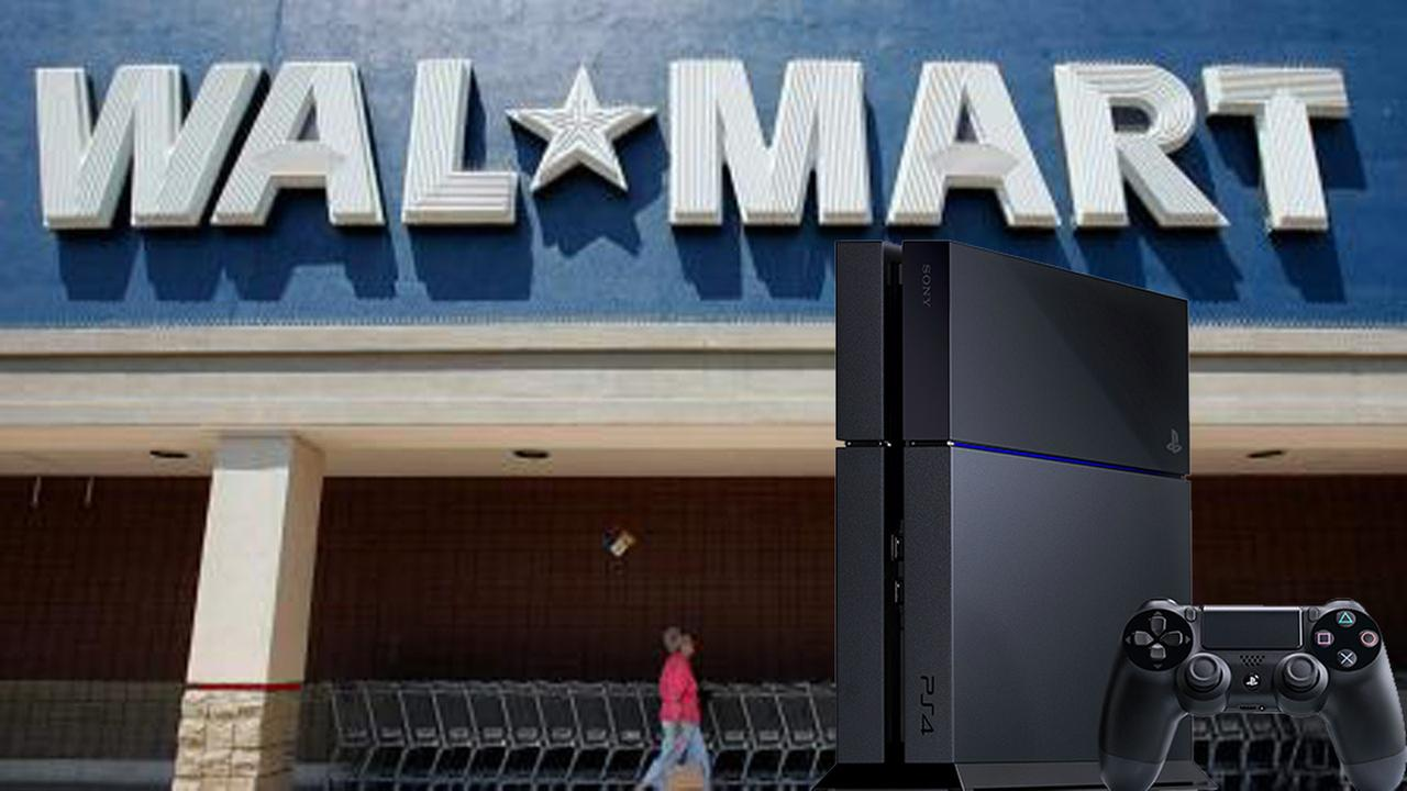 walmart and ps4