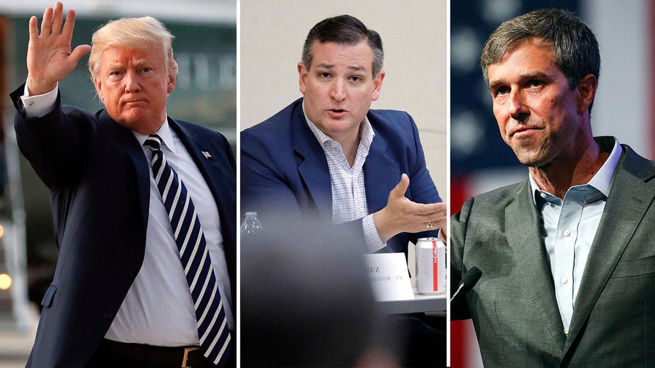 Donald Trump - Ted Cruz - Beto ORourke