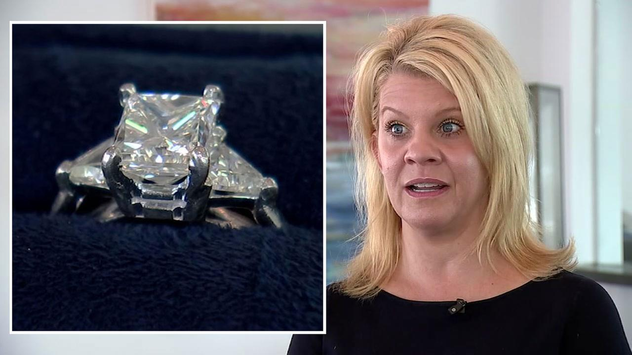 Diamond ring found