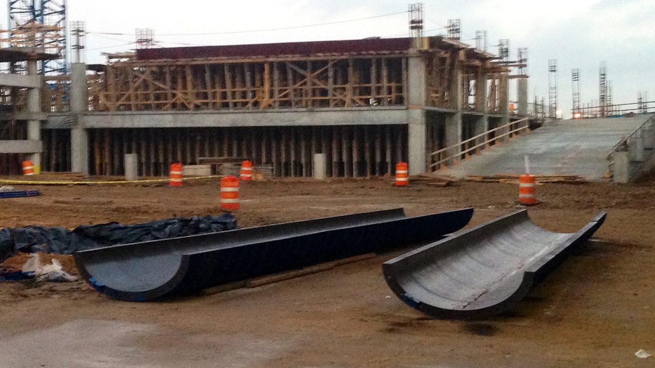 Construction at Hobby
