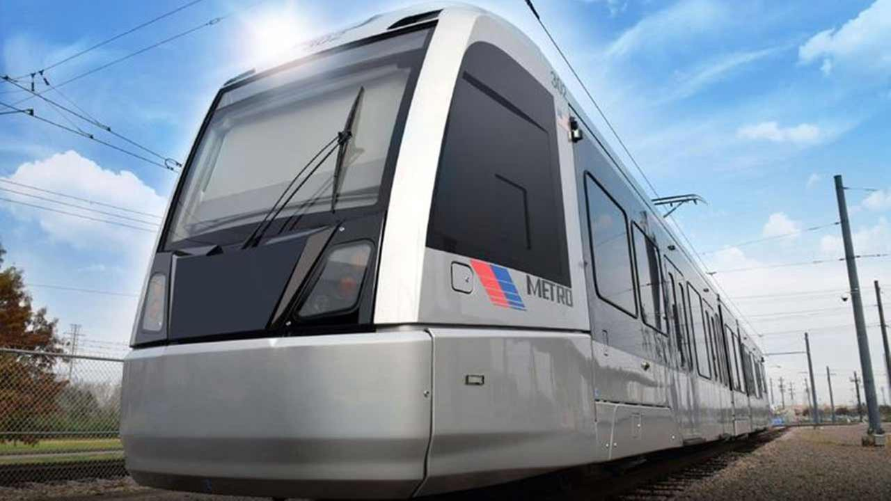 Six new light-rail cars will be added to the Metro rail line on Jan. 7, 2015. The cars will carry approximately 200 passengers each and are expected to ease rider congestion.