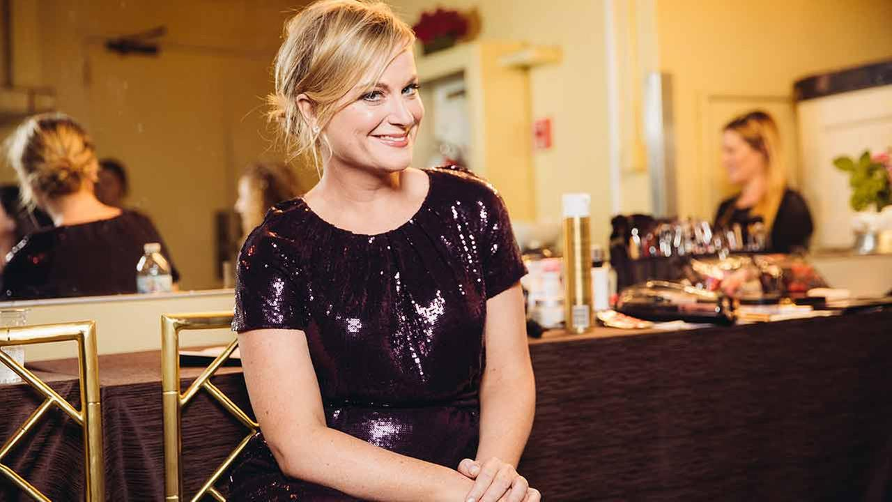 Amy Poehler poses for a portrait backstage at The 24th Annual PEN Center USA Literary Awards Festival at The Beverly Wilshire Hotel in Beverly Hills, CA.