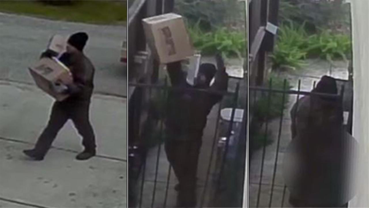 Security camera footage