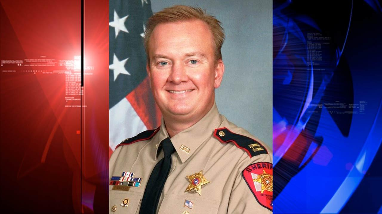 MCSO website sending visitors to site for sheriff candidate