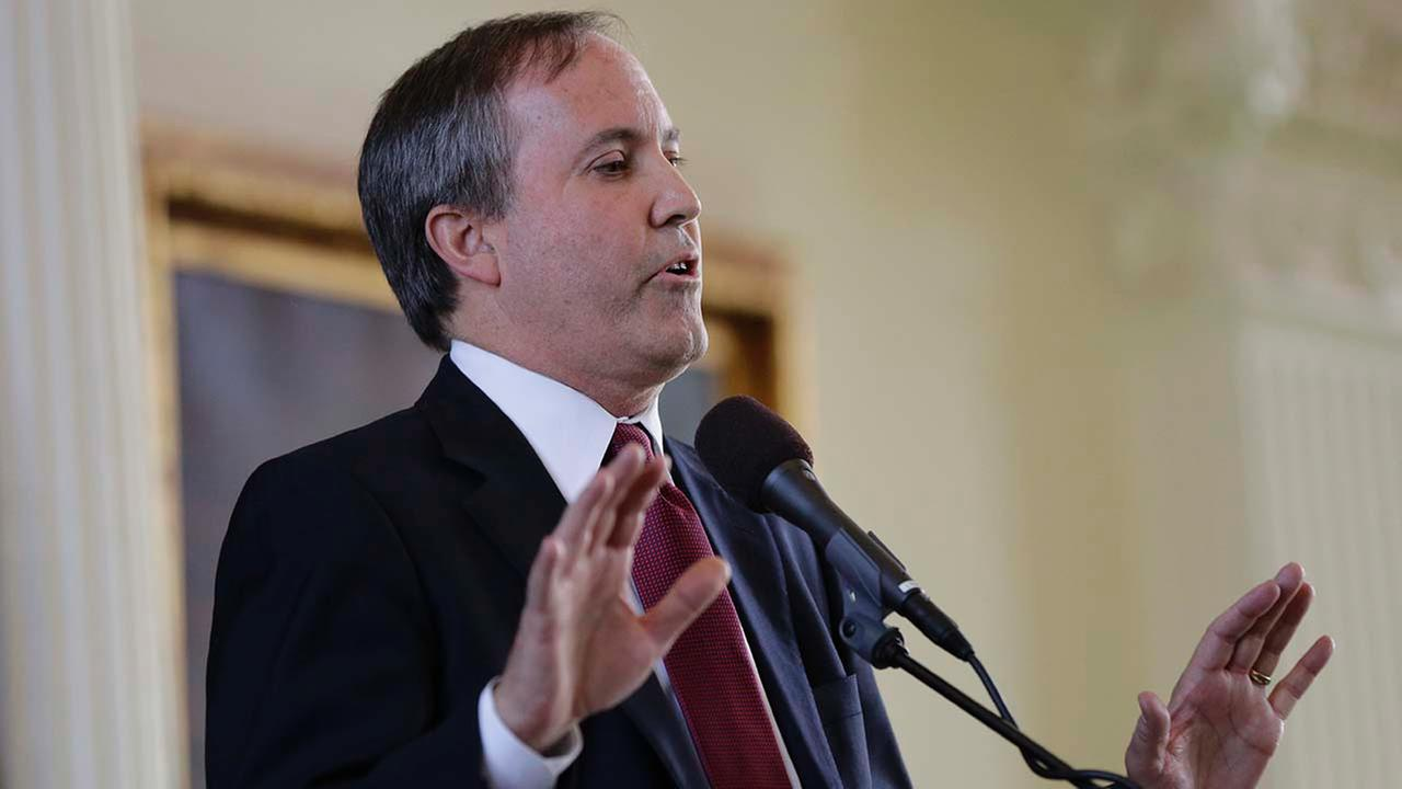 Ken Paxton speaks after he was sworn in as the Texas Attorney General, Monday, Jan. 5, 2015, in Austin, TX.
