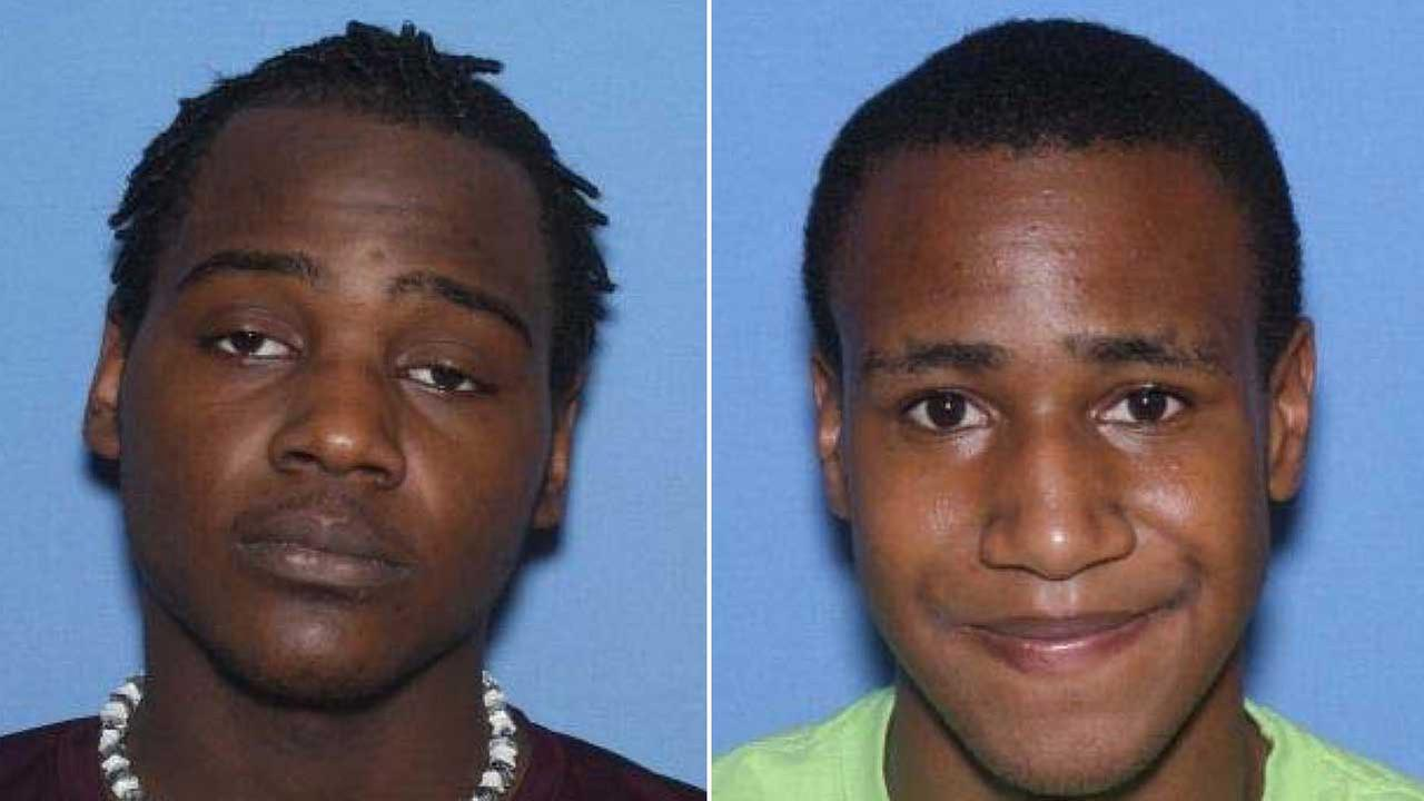 Police are looking for James Washington, 19; and Clifton Dixon, 21, in a violent home invasion in Galveston