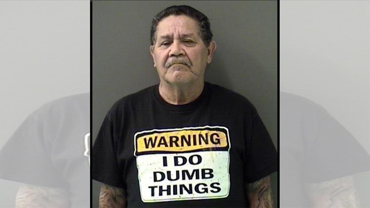 Texas DWI suspect wears memorable shirt in mug shot