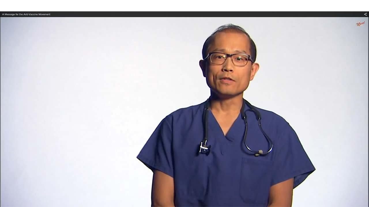"VIDEO: Doctors issue expletive-laced anti-vax PSA on ""Jimmy Kimmel Live!"""