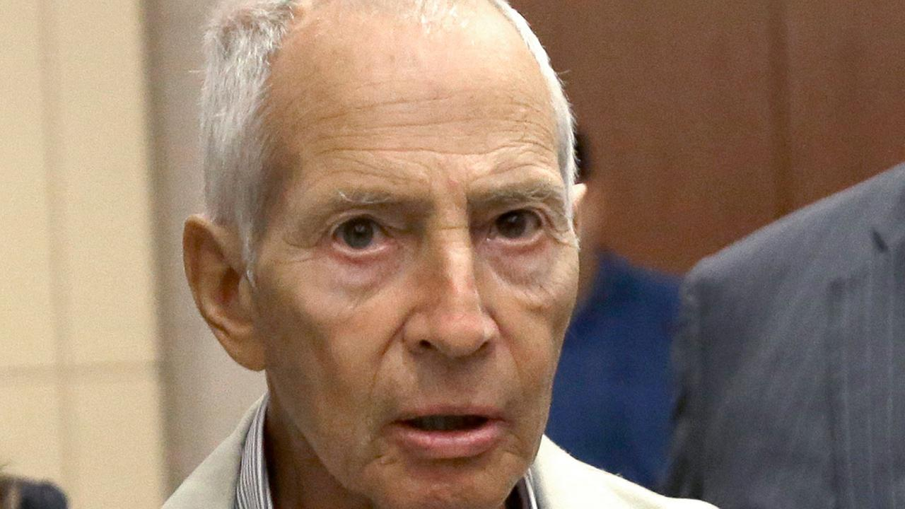 FILE - In this Aug. 15, 2014 file photo, New York City real estate heir Robert Durst leaves a Houston courtroom.