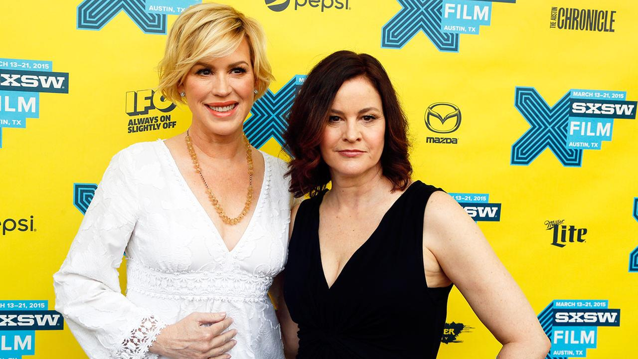 Molly Ringwald, left, and Ally Sheedy walk the red carpet for The Breakfast Club 30th Anniversary Restoration World Premiere during the South by Southwest Film Festival on Monday