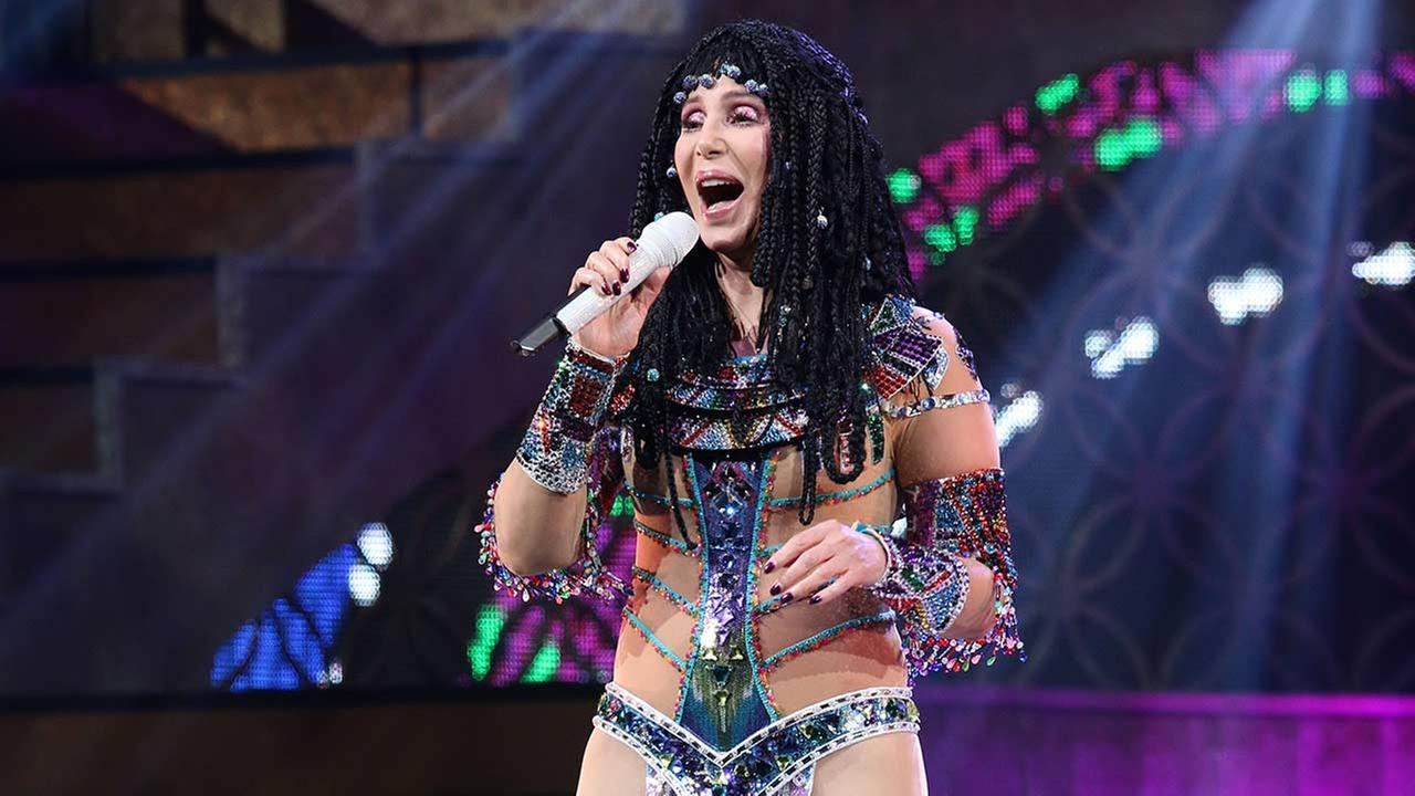 Cher performs during the D2K Tour 2014 at the BB&T Center on May 17, 2014 in Sunrise, Florida.