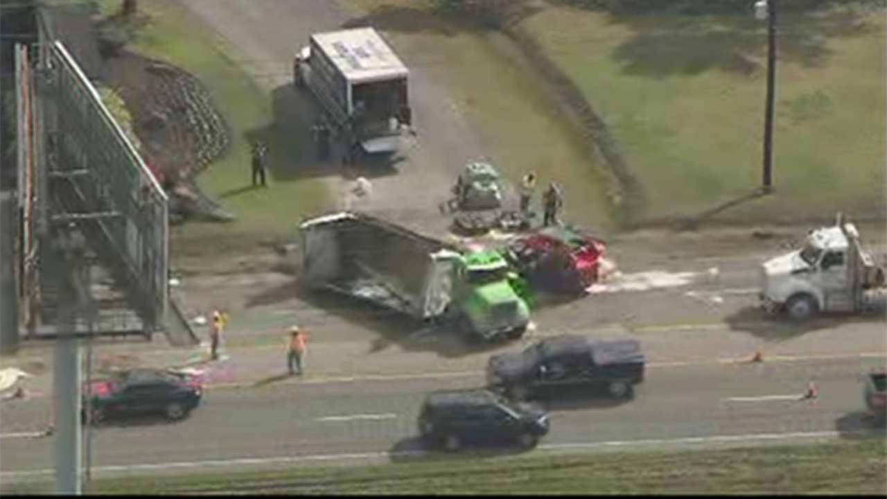 TxDOT: Acid spill shuts down part of FM 1960 for hours