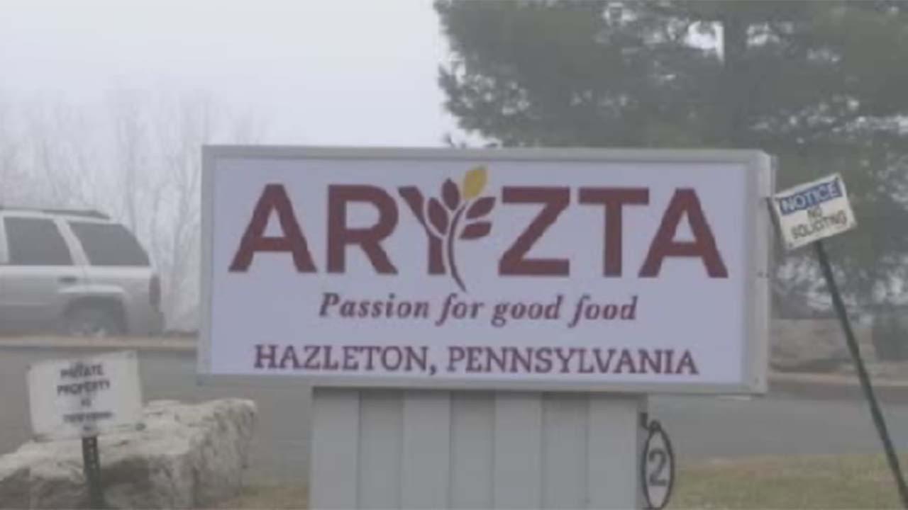 The Aryzta factory in Hazleton, PA