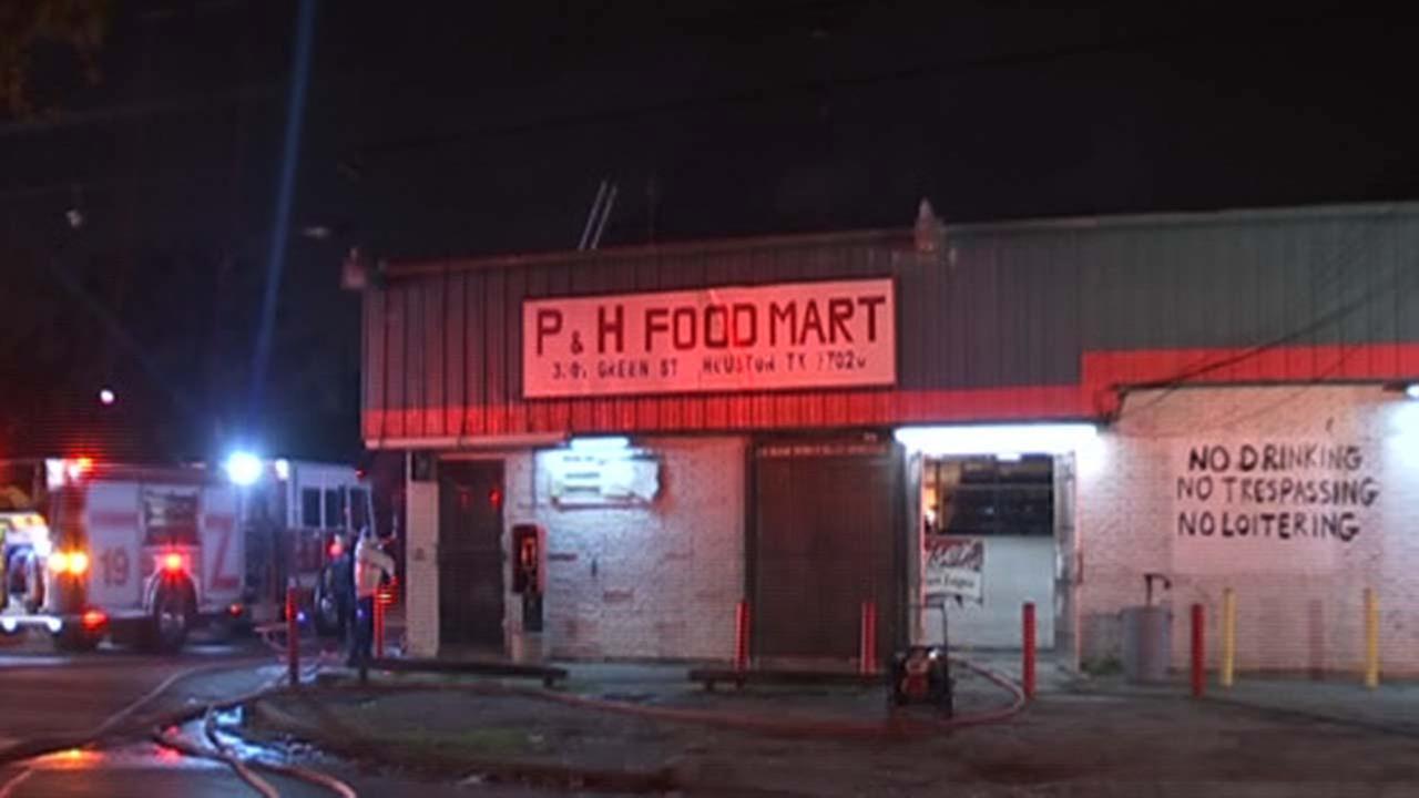 Northeast Houston food mart fire deemed suspicious