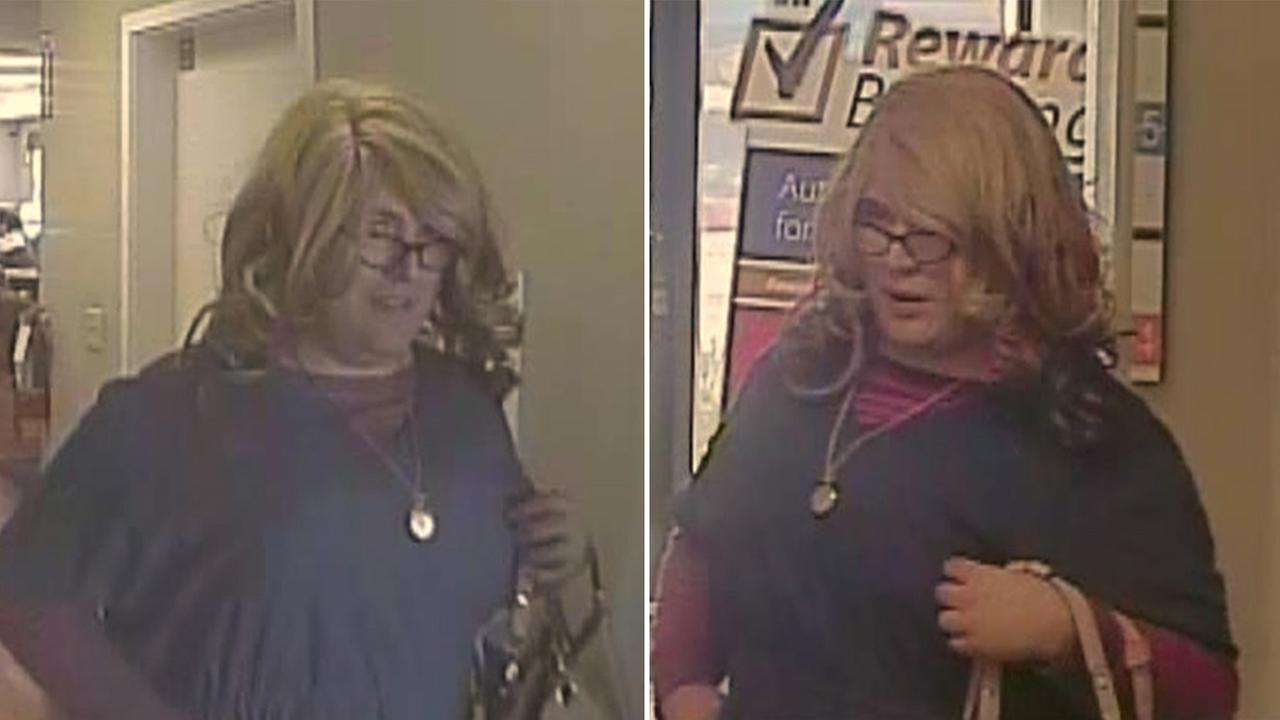 Mrs. Doubtfire bank robbery suspect