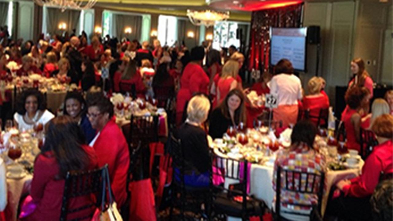 2015 Houston Go Red Luncheon held to call attention to heart disease