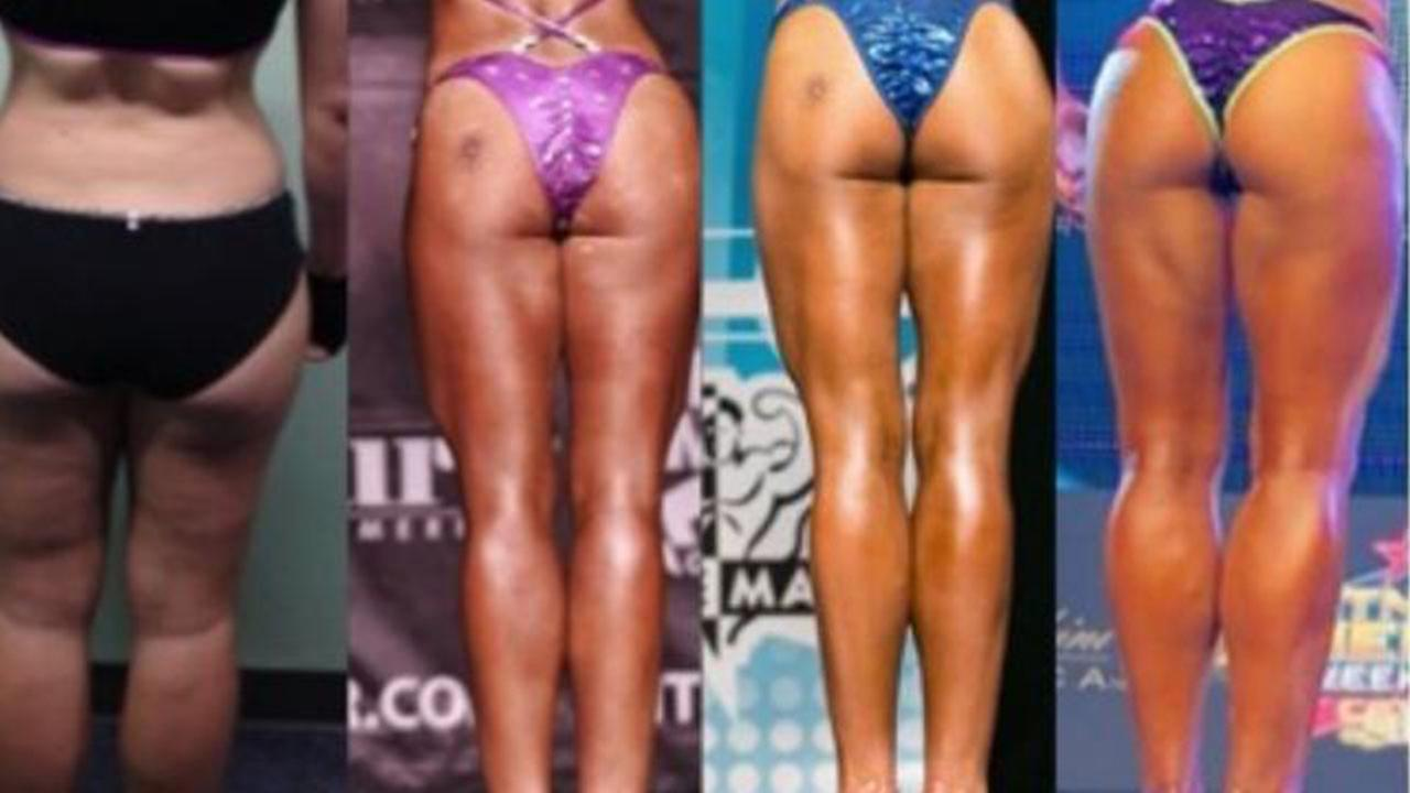 Booty workout before and after photos