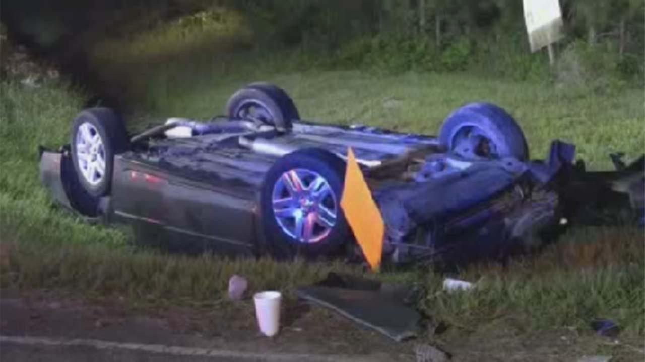 Deadly crash in Atascocita