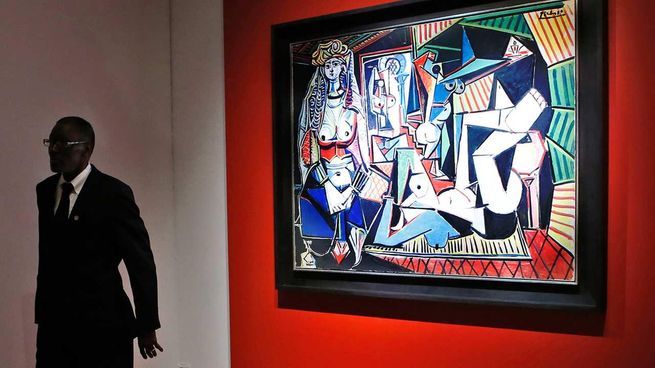 Pablo Picassos Women of Algiers (Version O), which sold for nearly $179.4M, making it set a world record for artwork at auction during a sale at Christies Rockefeller Center