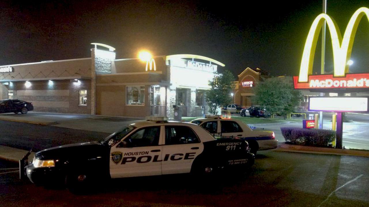 McDonalds homicide scene