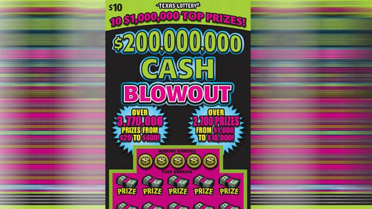 A woman from Waller, TX won $1 million on a Texas Lottery scratch-off game