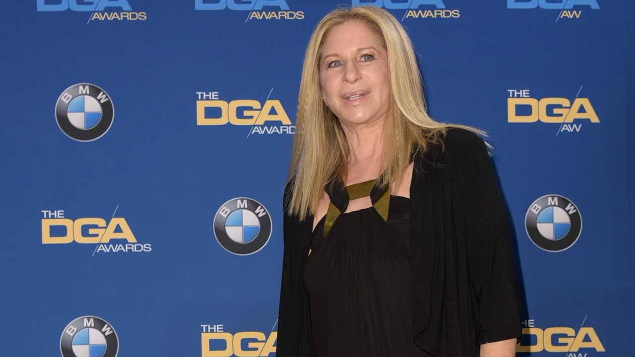 Barbra Streisand attends the Press Room at the 67th Annual DGA Awards on Saturday, Feb. 7, 2015, in Los Angeles.
