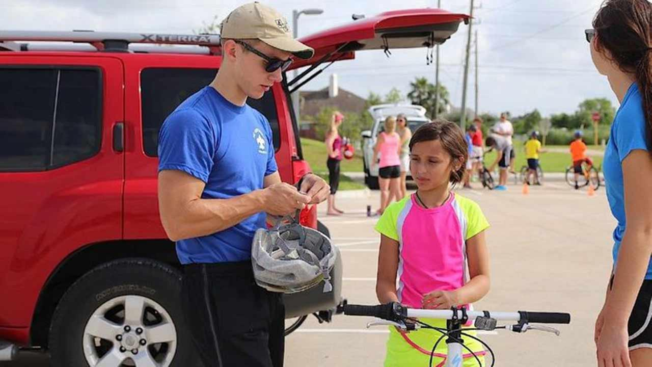 Pearland Scout makes bicycles safer for local residents