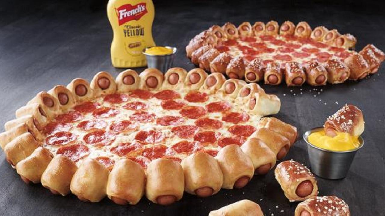 Pizza Huts Hot Dog Bites Pizza will be available while supplies last beginning Thursday, June 18.