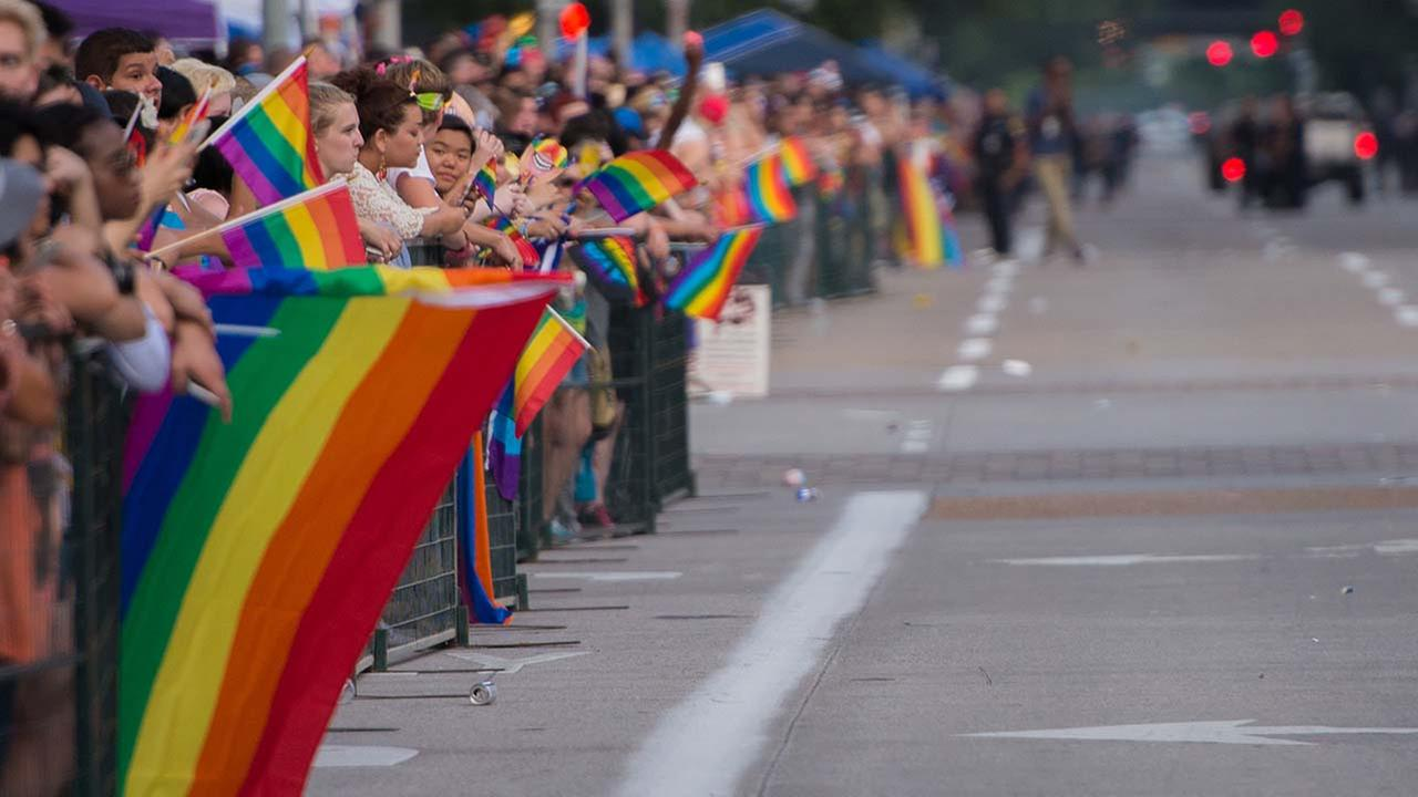 Pride Parade in Houston