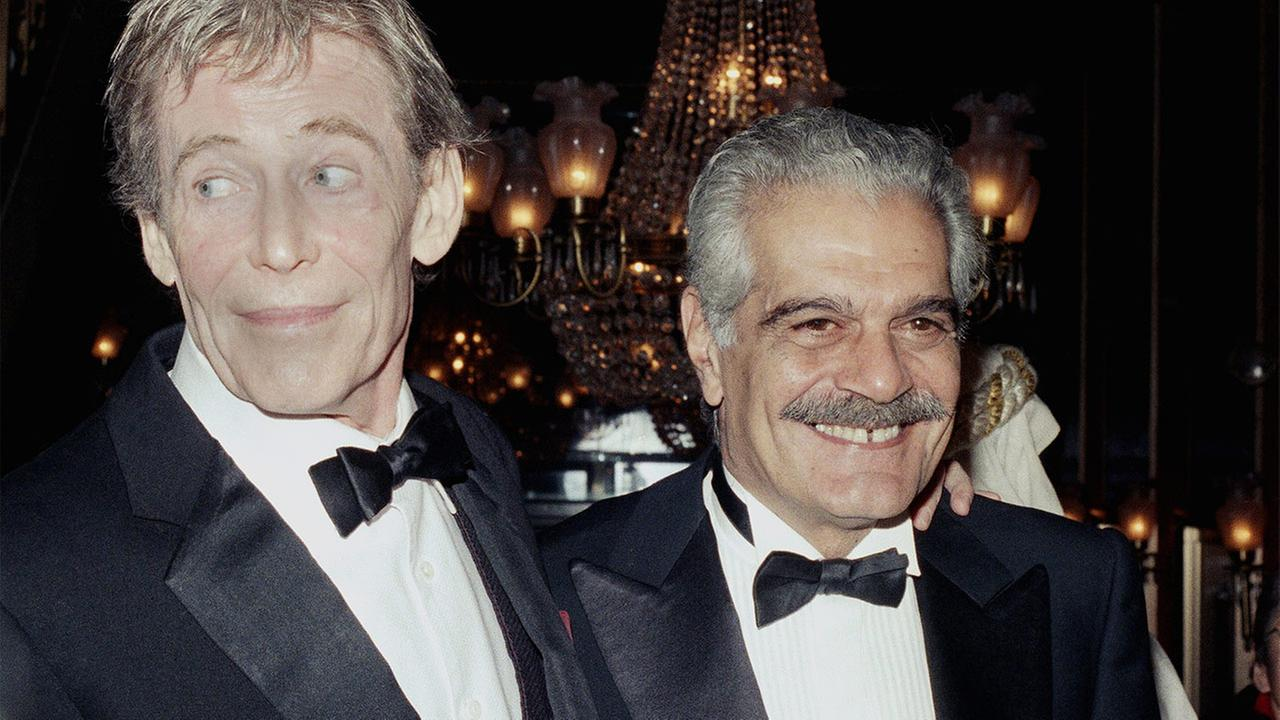 Omar Sharif with Peter OToole
