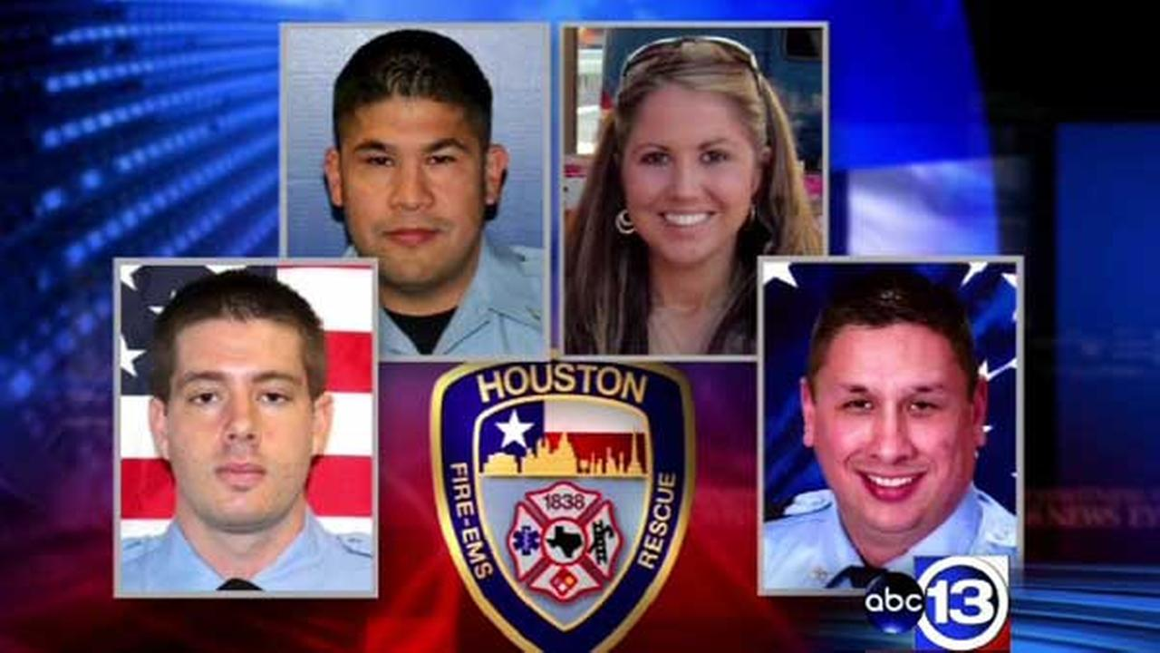 Four firefighters were killed in a massive blaze at a southwest Houston motel in May 2013.