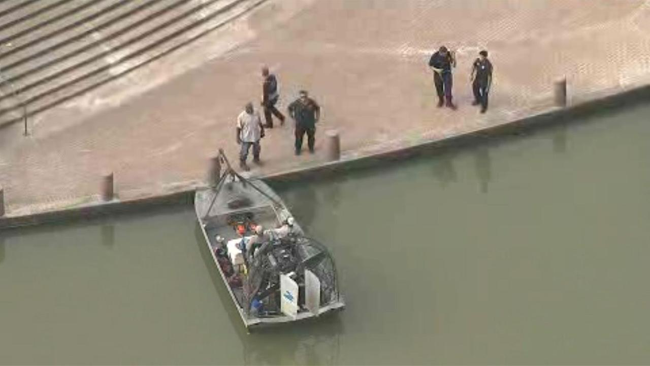 Body pulled from Buffalo Bayou in downtown Houston