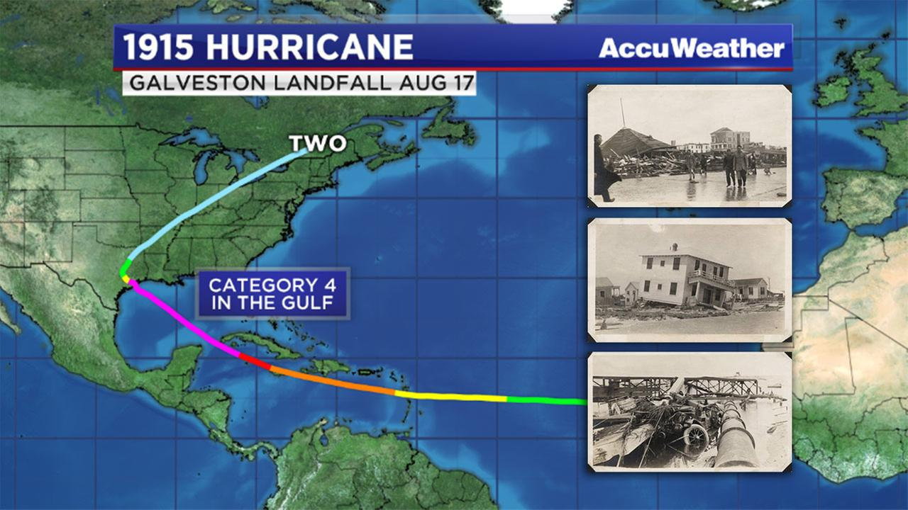 Hurricane Photos and hurricane map