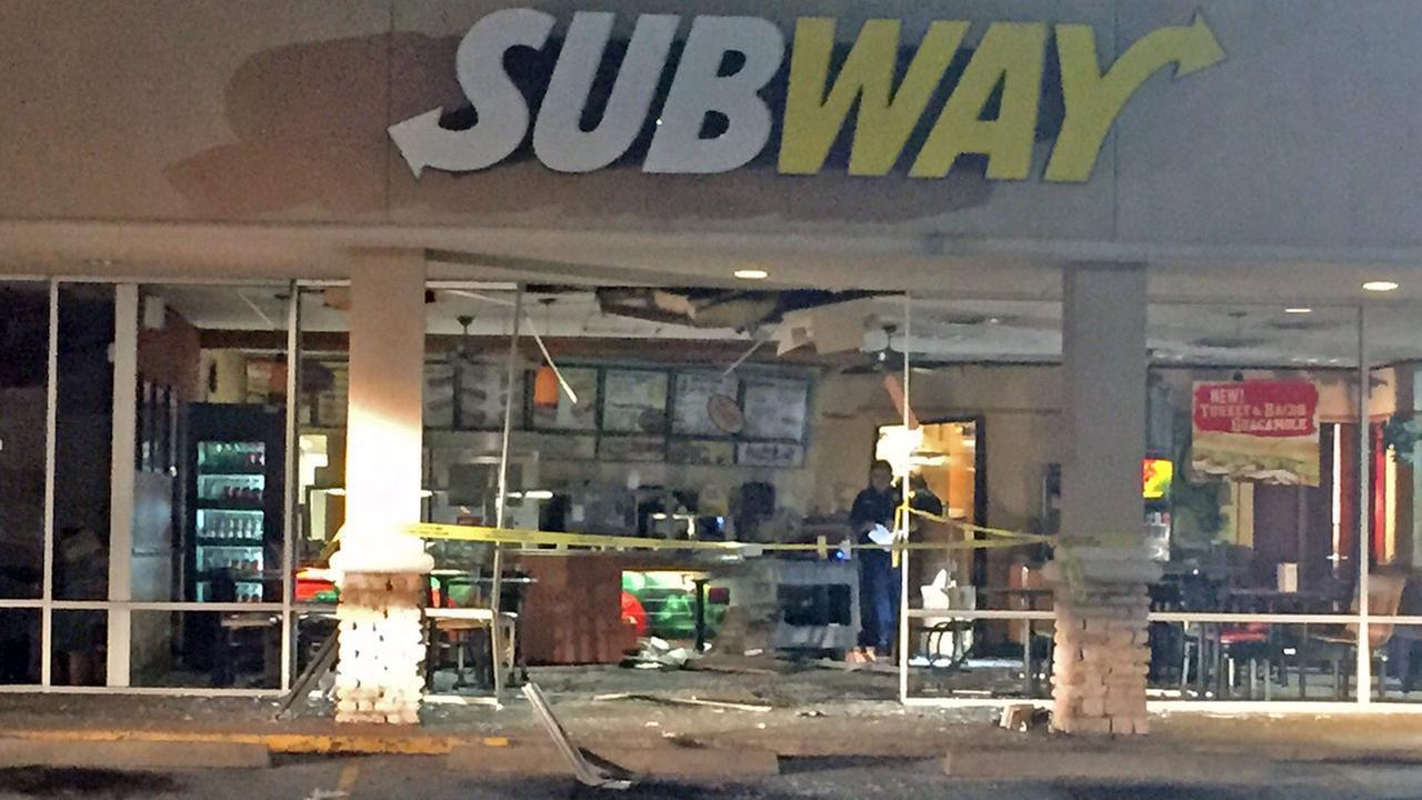 Smashed Subway restaurant