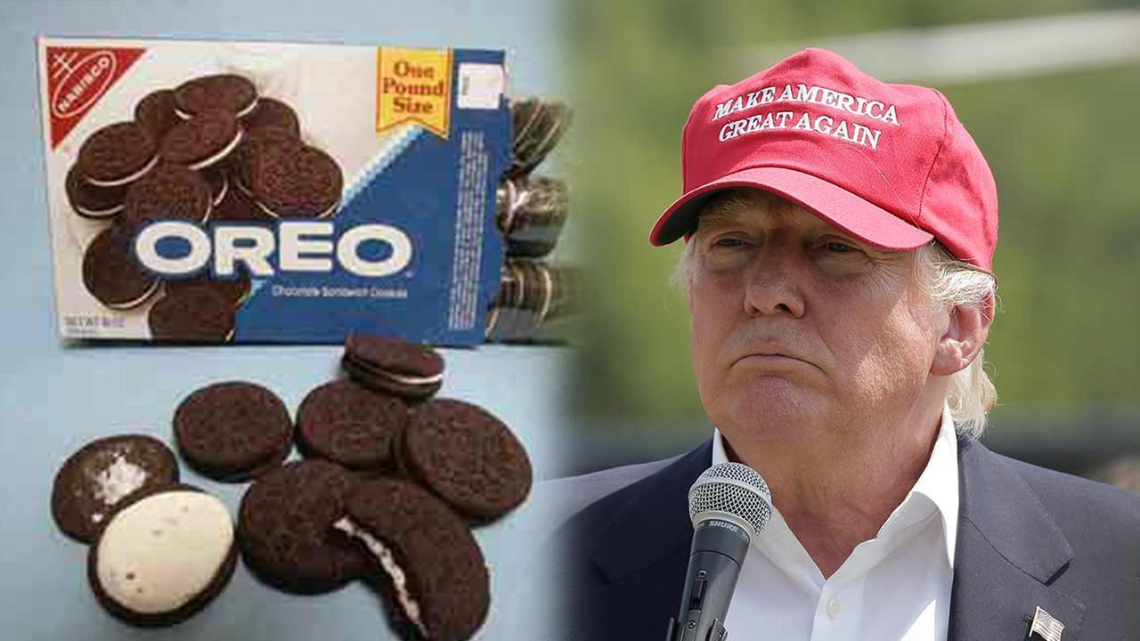 Donald Trump and Oreos