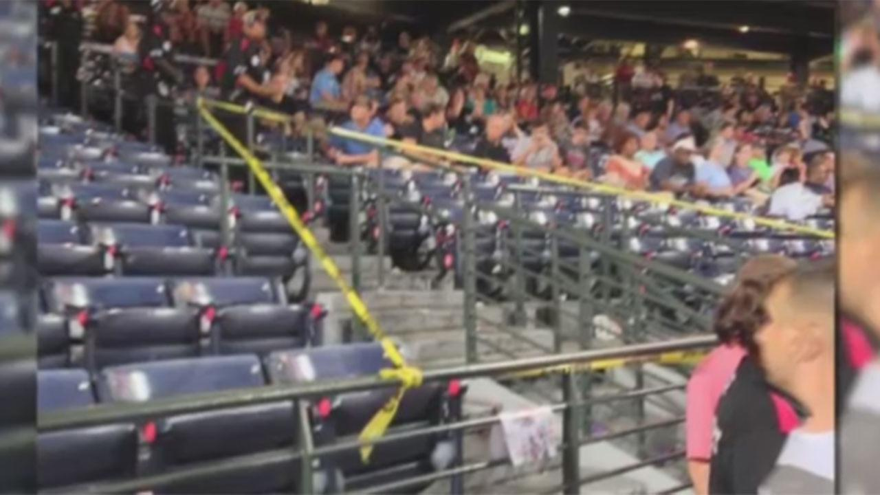 Fan dies after fall from upper deck at Atlanta Braves game