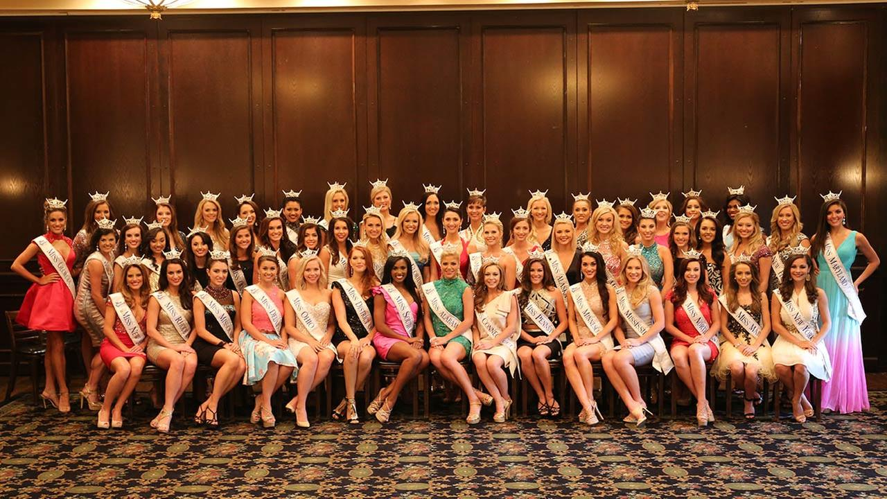 The 2016 Miss America Competition contestants