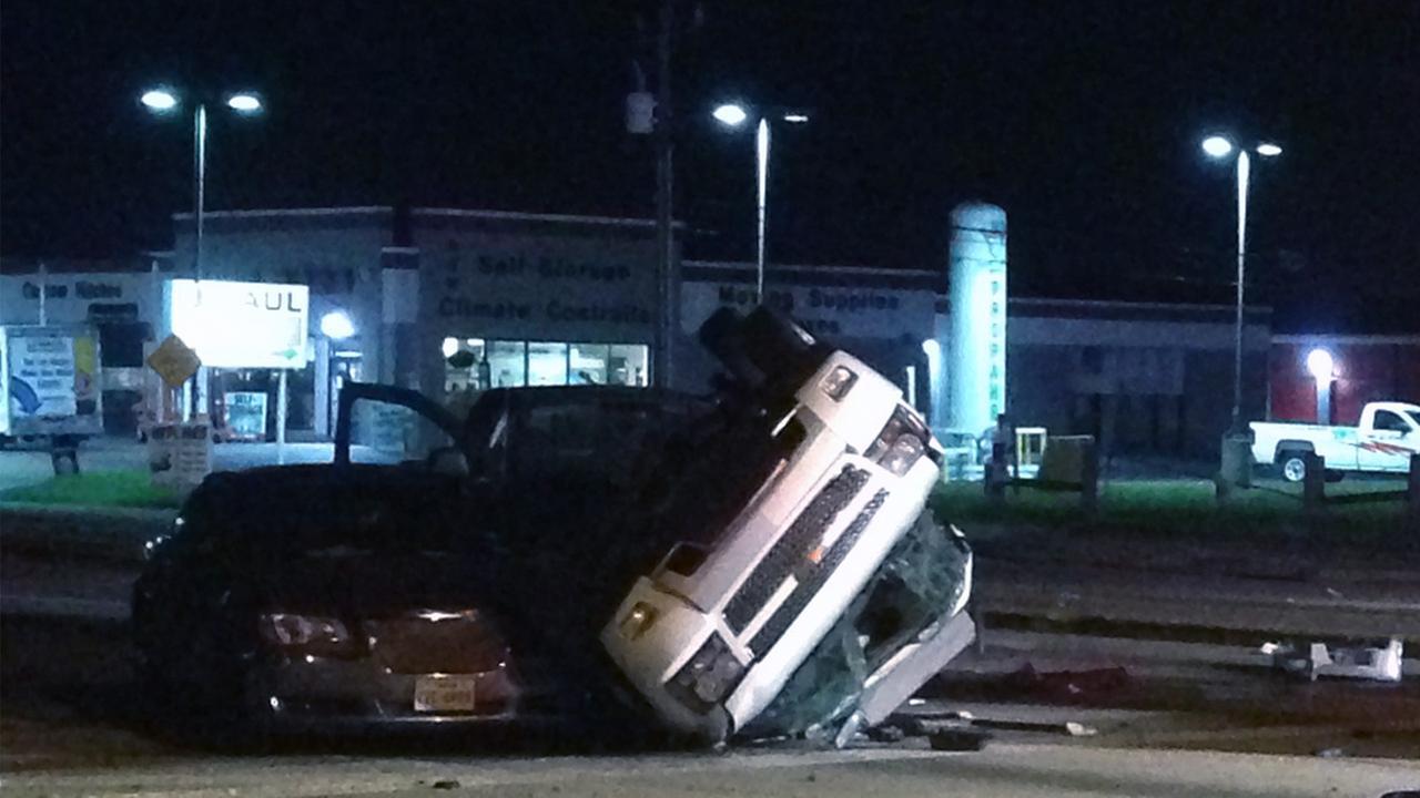 Deadly crash scene