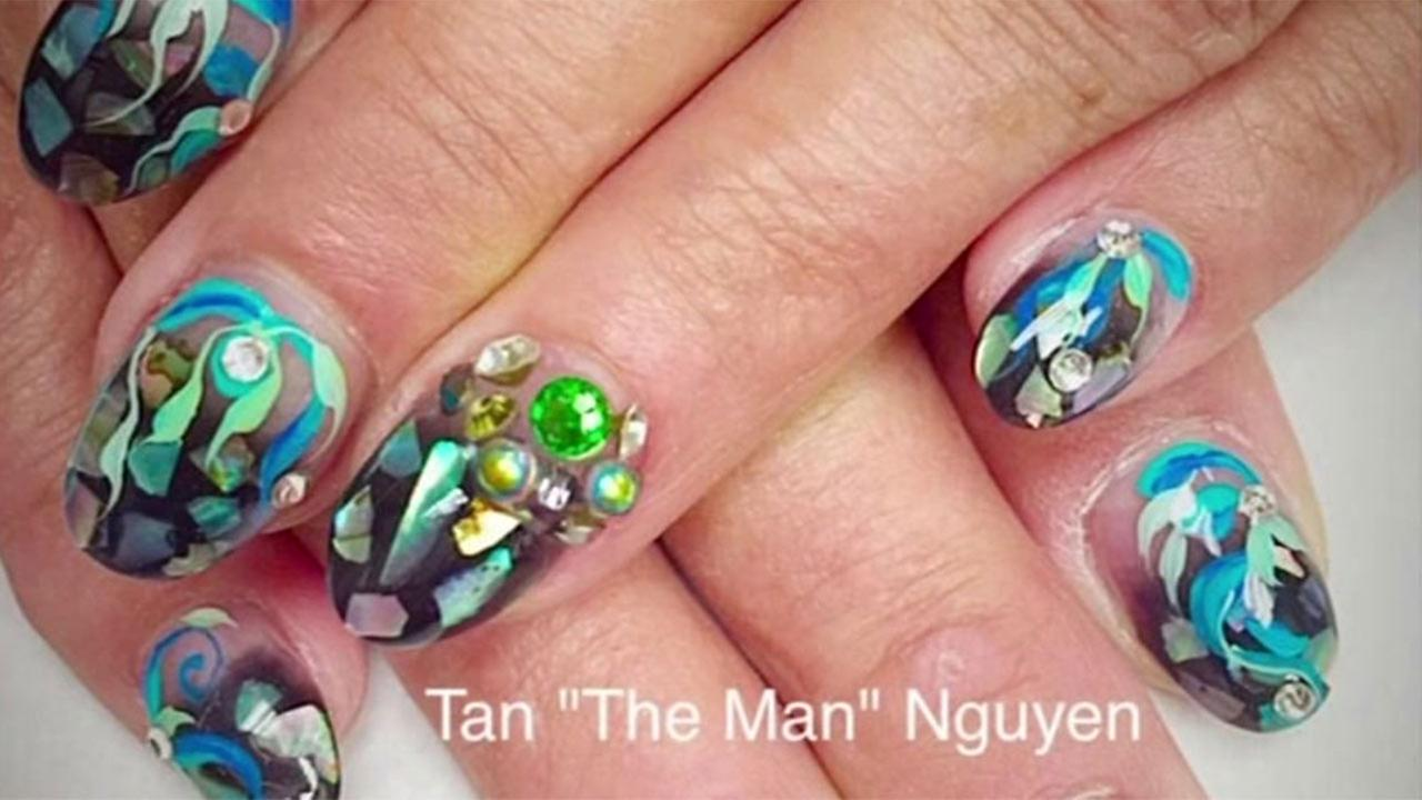 Conroe Marine is unlikely competitior in Next Top Nail Artist ...