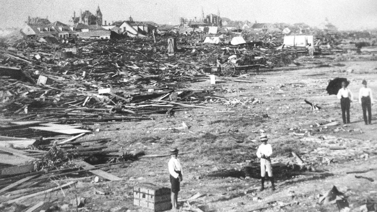 Galveston, Texas in 1900