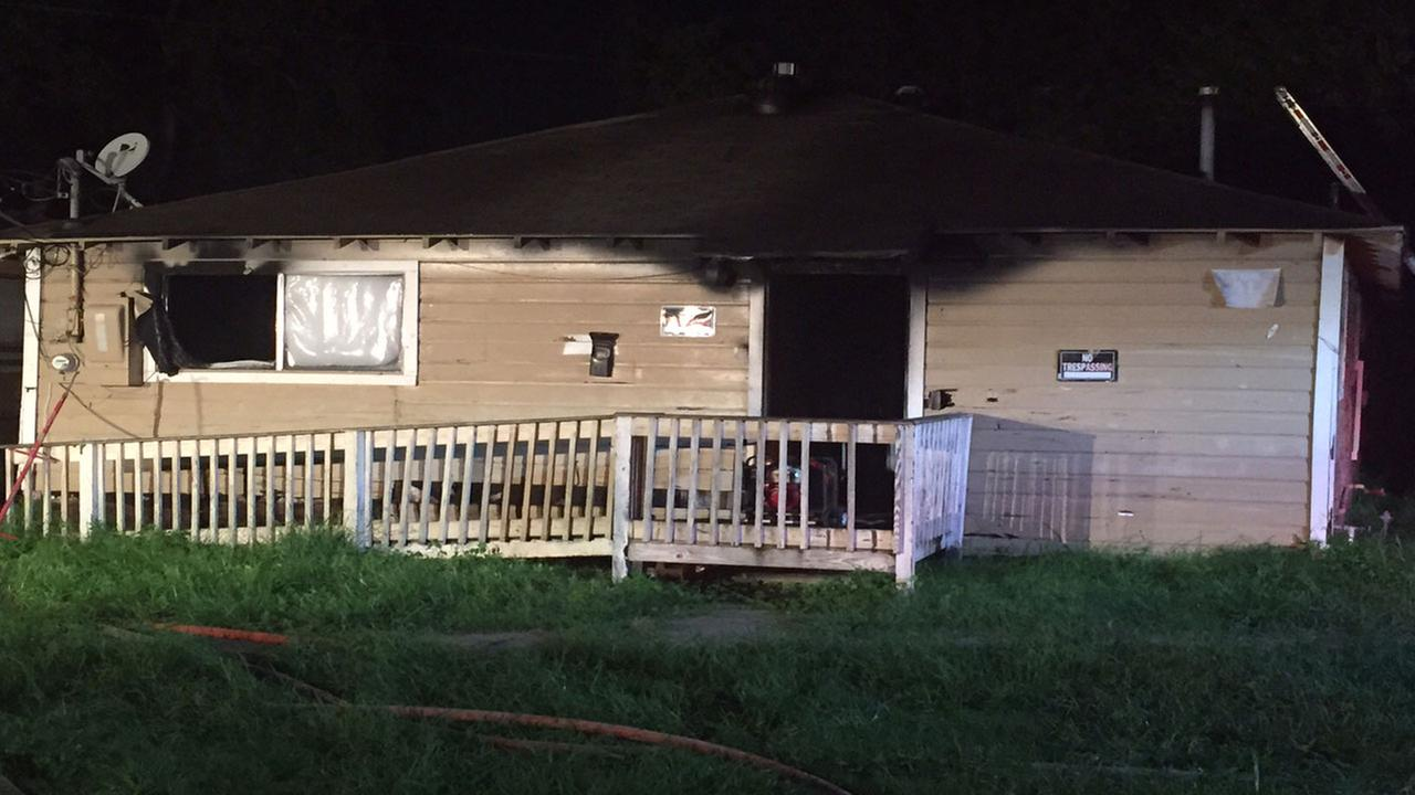 Pannell St. house fire in Houston