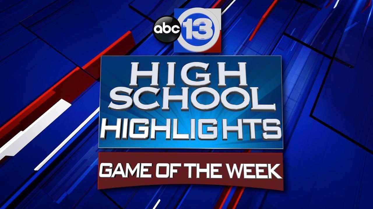 ABC13's High School Football Top 10 - Week 1
