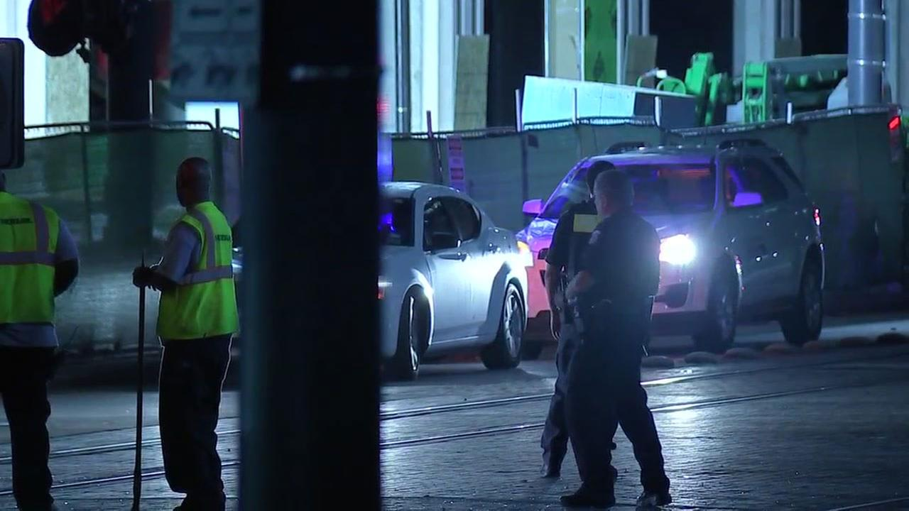 SUV driver injured in accident with METRORail train in downtown Houston