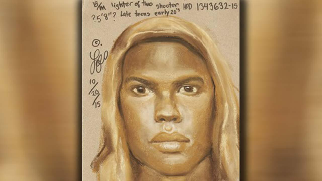 Sketch of hoodie-wearing suspect released in murder case from west Houston