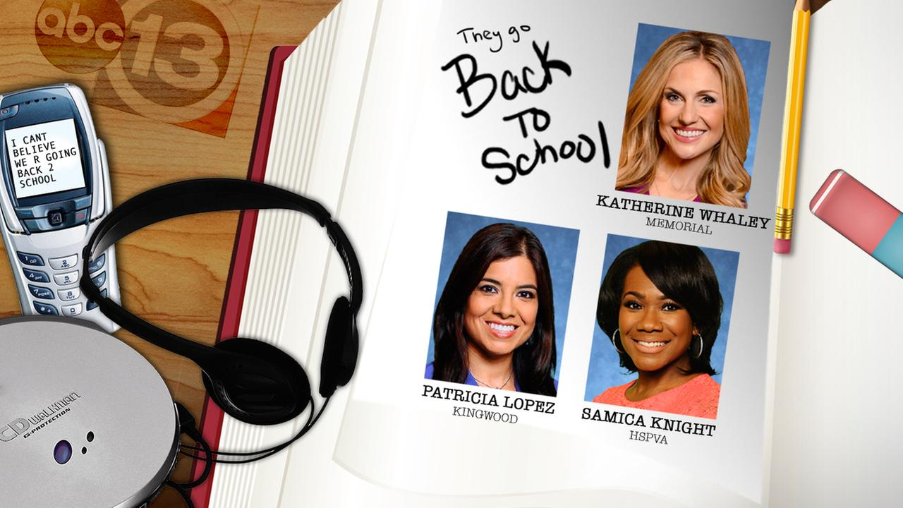 Go back to high school with Samica Knight, Patricia Lopez and Katherine Whaley