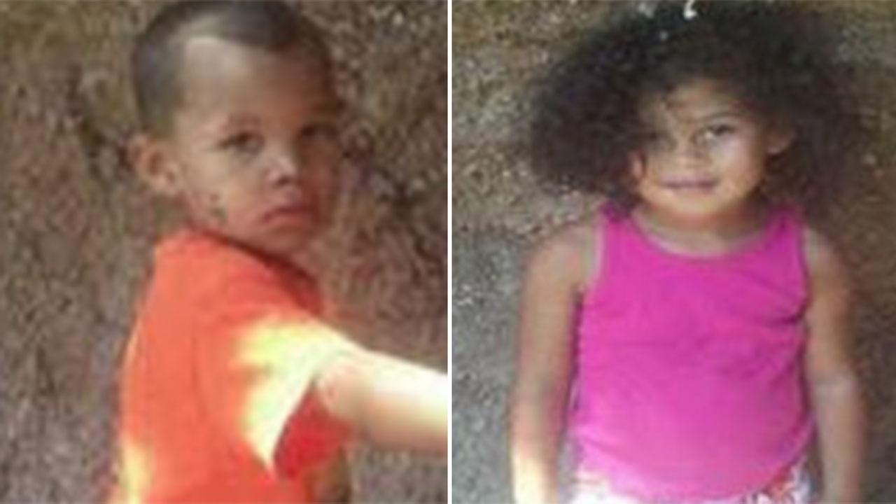 Lulamae Ann King, 5, and Deondre King, 6.