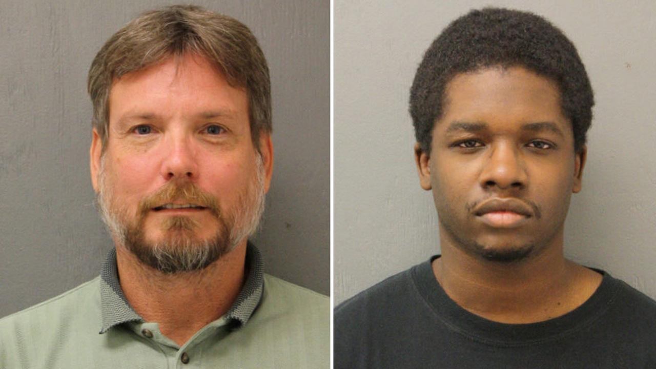 Earl Worden, left, and Phillip Turner