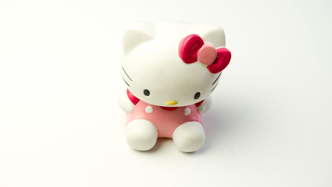Popular Japanese character Hello Kitty