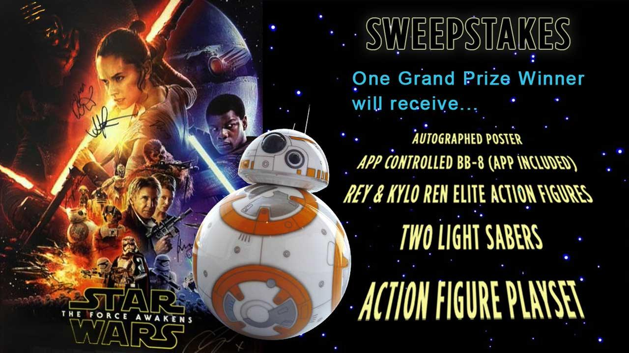 Register to win a Star Wars prize pack!